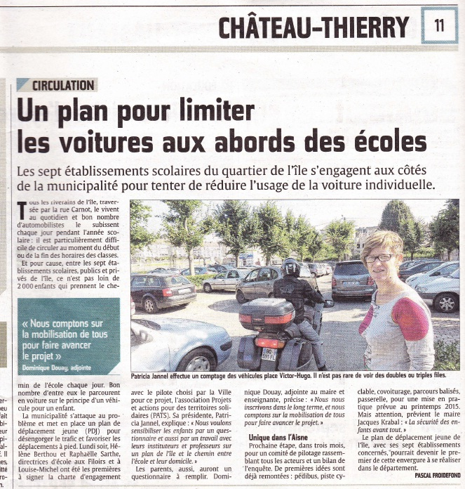 PDJ Chateau T article union septembre 2014